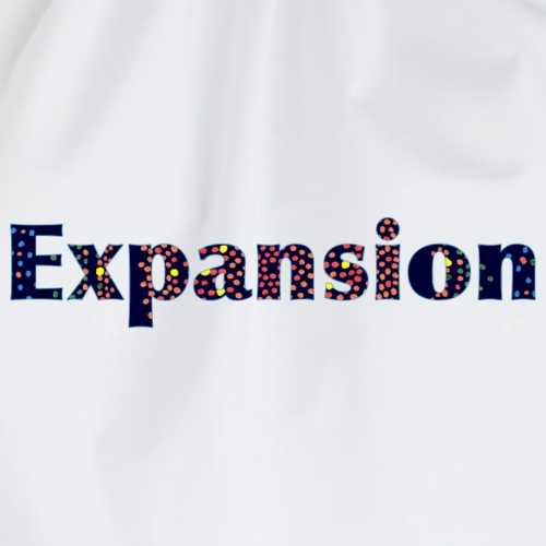Expansion - Drawstring Bag