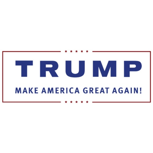 TRUMP Transparent Banner MAGA