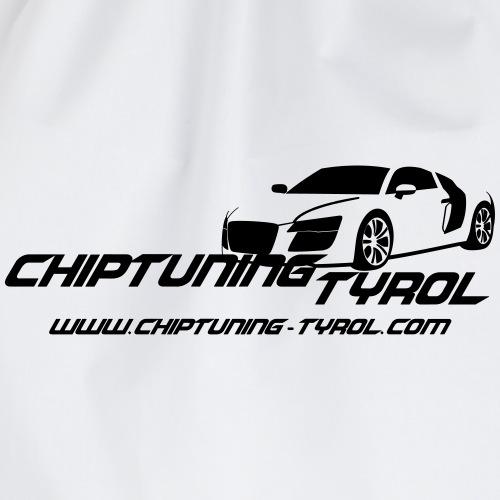 Chiptuning-Tyrol.com Logo Nur Rückseite - Turnbeutel