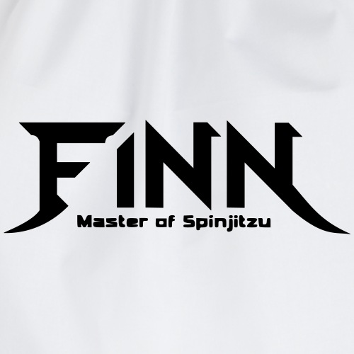 Finn - Master of Spinjitzu - Turnbeutel
