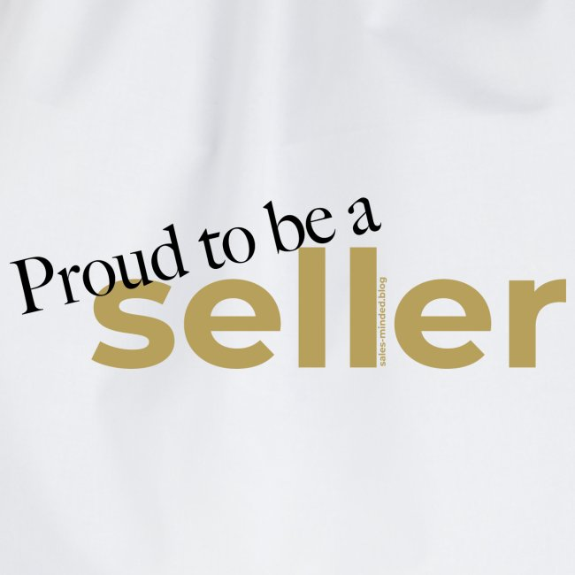 Proud to be a seller