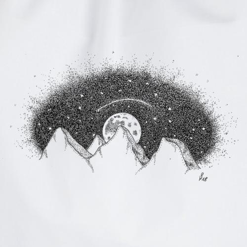 Berg Nacht - Turnbeutel