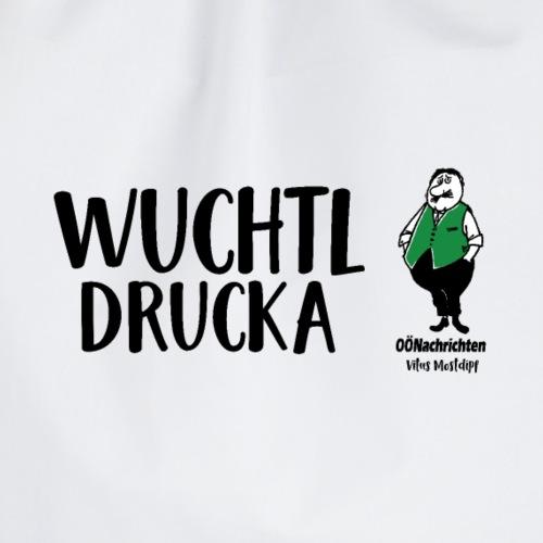Wuchtldrucka - Vitus Mostdipf - Turnbeutel