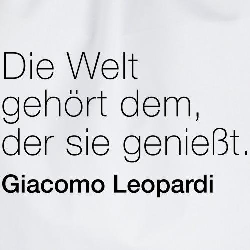 Giacomo Leopardi - Turnbeutel