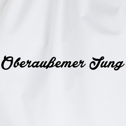 Oberaußemer Jung - Turnbeutel
