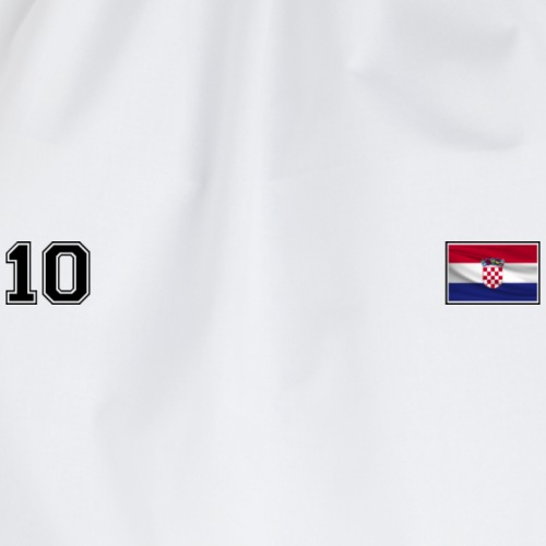 From Croatia with Love - Croatian Flag CRO10 black