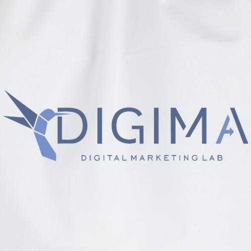 Logo DIGIMA - Sacca sportiva