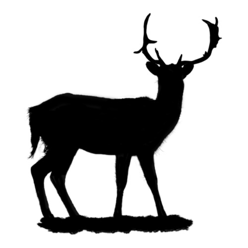 Ciervo negro - Mochila saco