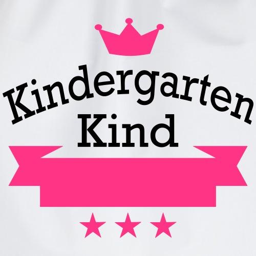 Kindergartenkind Maedchen - Turnbeutel