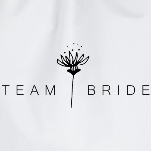 Team Bride Flower - Turnbeutel