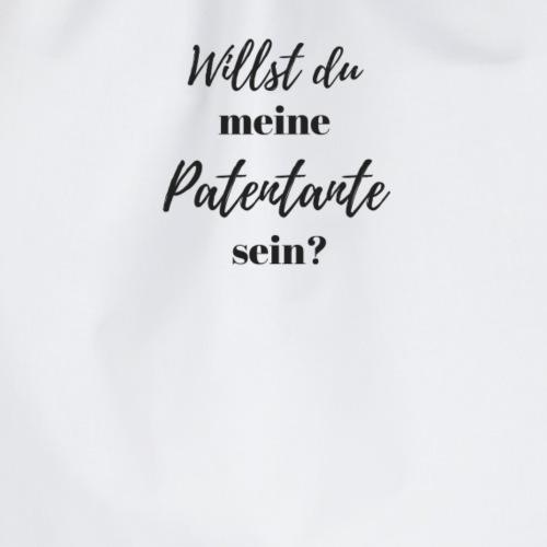 Willst du meine Patentante sein? - Turnbeutel