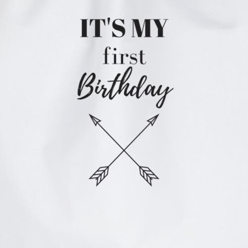 IT'S MY FIRST BIRTHDAY - Turnbeutel
