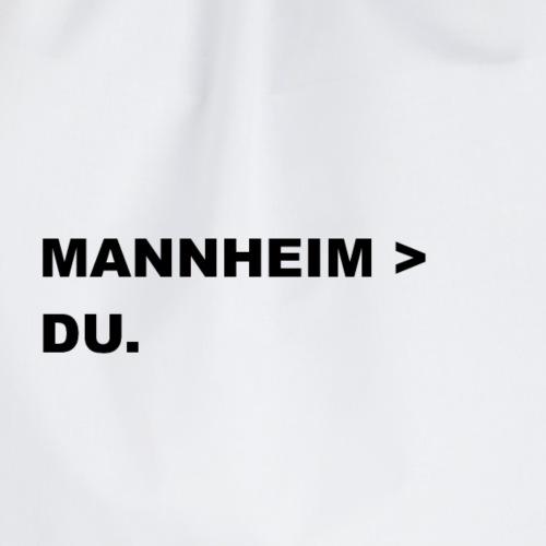 MANNHEIM > DU. - Turnbeutel