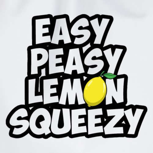 Easy peasy lemon squeezy - Gaming Spruch - Turnbeutel