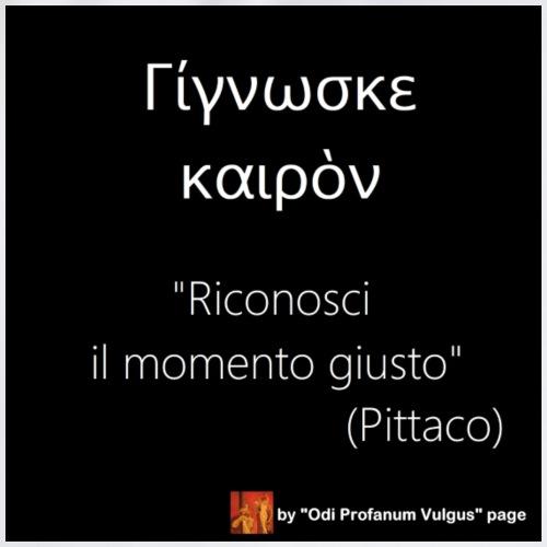 Citazione Pittaco - Sacca sportiva