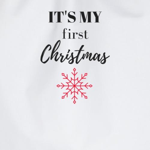 Christmas / Schneeflocke - Turnbeutel