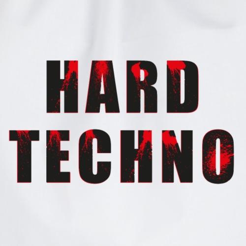 HARD TECHNO - Drawstring Bag