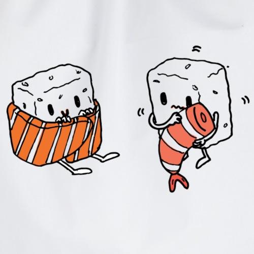 Winter sushi - Mochila saco