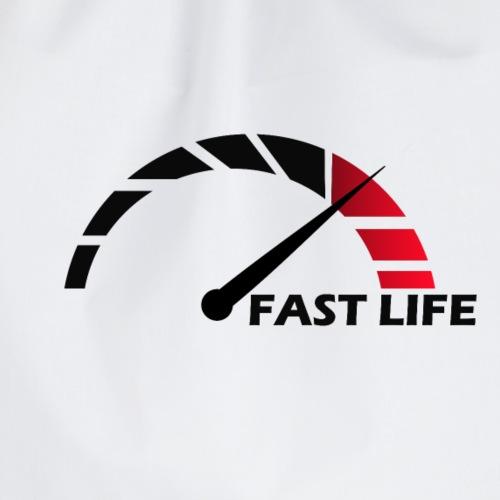 FAST LIFE - Turnbeutel