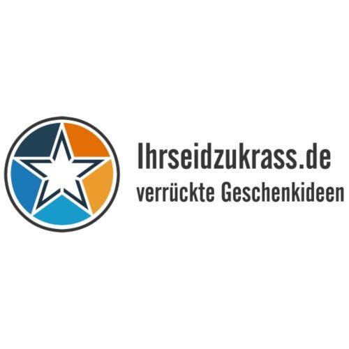 Ihrseidzukrass.de Logo - Turnbeutel