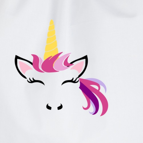 Unicorn 2 - Drawstring Bag