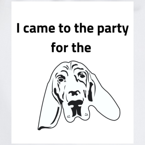 Party pooch - Drawstring Bag