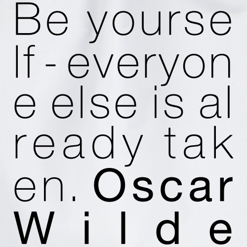 Oscar Wilde - Turnbeutel