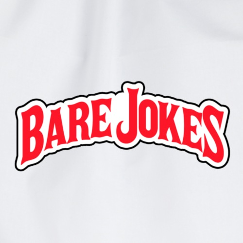 BARE JOKES - Drawstring Bag
