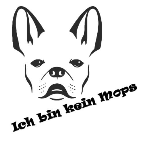 Kein Mops!! - Turnbeutel