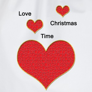Love_Christmas - Drawstring Bag