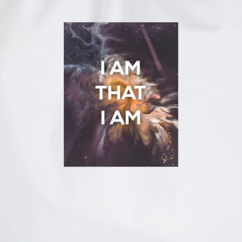 I AM THAT I AM - Drawstring Bag