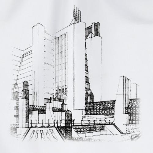 futurism - Drawstring Bag