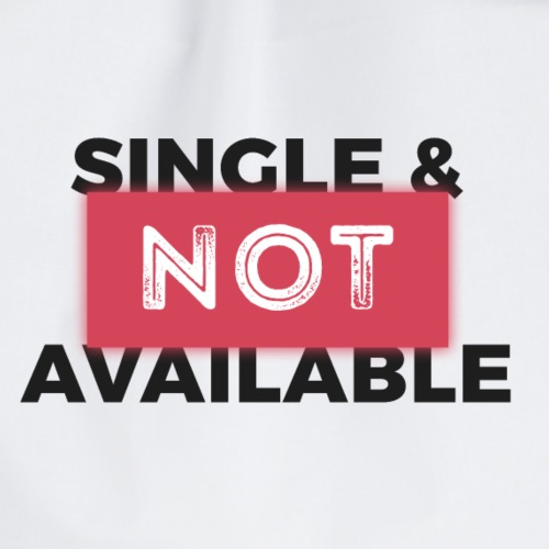 Single NOT Available - Drawstring Bag
