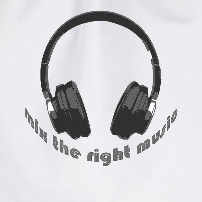 DJ Mix the right music, headphone