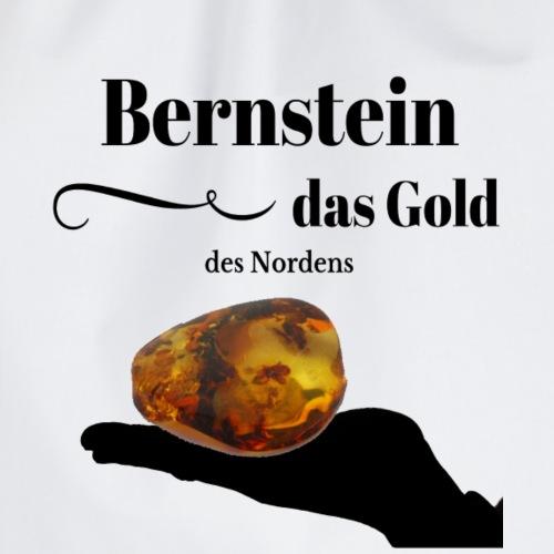 Bernstein - das Gold des Nordens - Turnbeutel