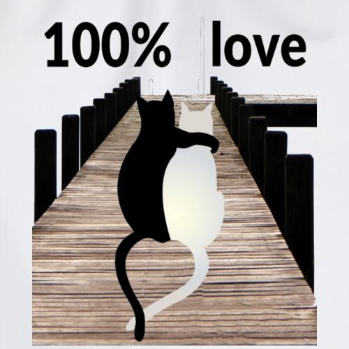 100 % Love - Turnbeutel