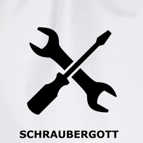 SchrauberGott schwarz - Turnbeutel