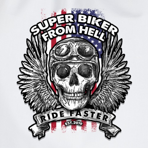 Super Biker From Hell - Gymtas