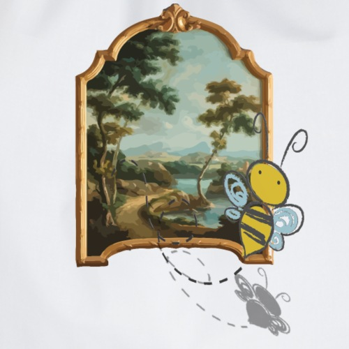 Yellow Honey Bee - Sac de sport léger
