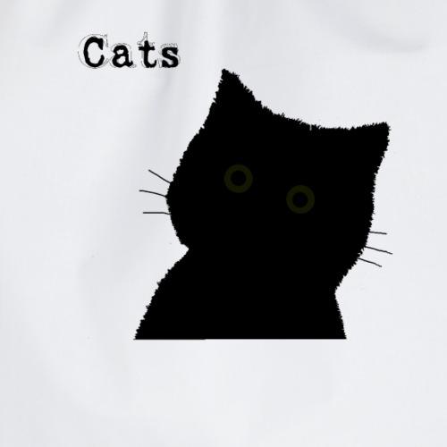 Black Cat Katze Silhouette Mietz Mietzekatze cut