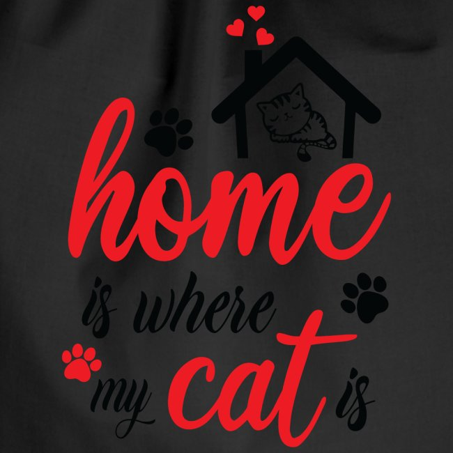 Home is where my cat is