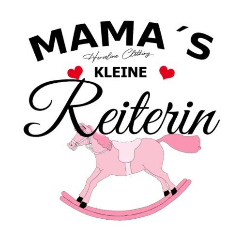 Mamas kleine Reiterin Pferd Reiten Baby - Turnbeutel