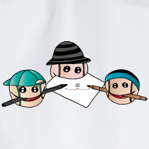 Emoji- Schüler - Turnbeutel