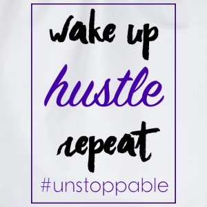wake up, hustle,repeat - Turnbeutel