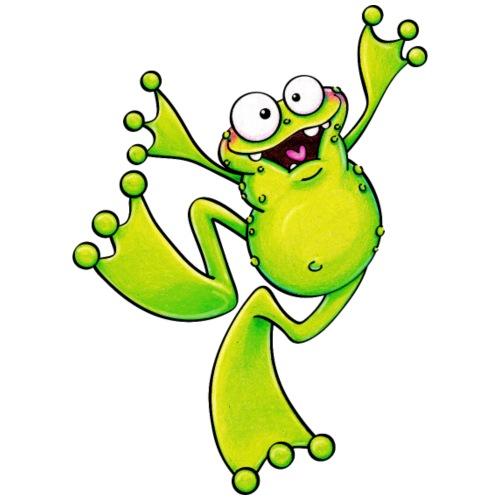 monster frog - Turnbeutel
