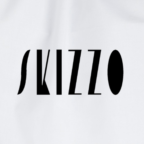 Skizzo nero - Drawstring Bag
