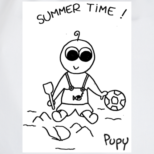 Pupy: summer time! - boy - Sacca sportiva