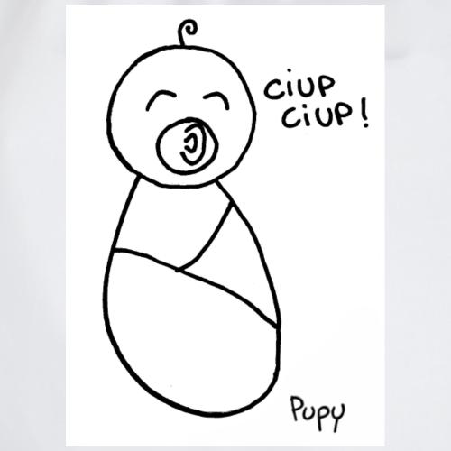 Pupy: ciup ciup! - boy - Sacca sportiva