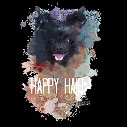 Happy Hair - by Mr.Vinze - Turnbeutel