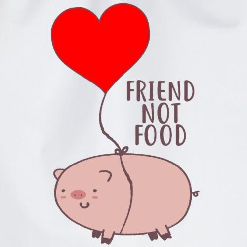 friend not food - Turnbeutel